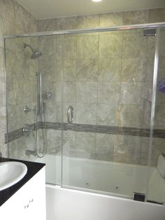 Completed bathroom remodel in Torrance, CA