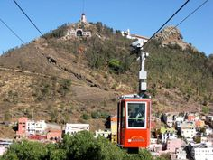 Cable car in Zacatecas, Mexico