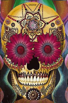 Trippy Flashing Skull Illusion - http://www.moillusions.com/trippy-flashing-skull-illusion/
