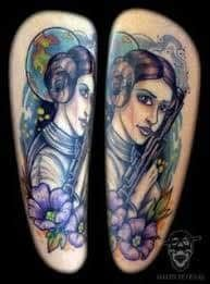 Princess Leia Tattoo 5