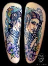 Princess Leia Tattoo 5