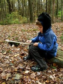 Acorn Pies: Whittling with Boys and Girls - teaching young children knife skills and whittling