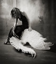 take these broken wings and learn to fly again...