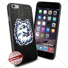"""NCAA-UConn Huskies,iPhone 6 4.7"""" Case Cover Protector for iPhone 6 TPU Rubber Case Black SHUMMA http://www.amazon.com/dp/B012YMXFOO/ref=cm_sw_r_pi_dp_90Ipwb0JKPS75"""
