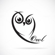 Vector of owl design. Owl Tattoo Small, Small Tattoos, Owl Tattoos, Tattoo Ink, Arm Tattoo, Fish Tattoos, Sleeve Tattoos, Art Drawings For Kids, Easy Drawings