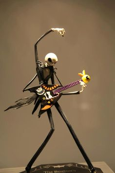 Jack Skellington and Sally's daughter.