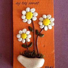 #taş #boyama #hobi #orjinal #tasarım #pano #stone #art #rock #stoneart #farklı #hediyelik #tablo #elyapımı #handmade #elemeği #aytaşsanat #taşsanatı #paintingstones #evdekorasyon #batıkent #ankara #dekorasyon #papatya