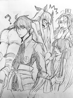 Drifters #Anime #Manga Toyohisa Shimazu and Catherine Olminu