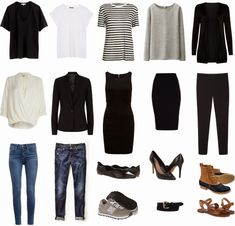 Wardrobe Basics from one of my favorite bloggers