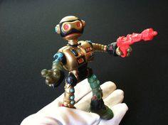 Fugitoid Robot Teenage Mutant Ninja Turtles TMNT Figure 1990