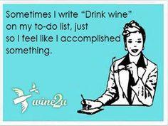 Wine accomplishments