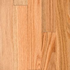 """This is the floor I chose for my kitchen to replace the vinyl tiles. Highly rated by Consumer Reports. BELLAWOOD - 3/4"""" x 2-1/4"""" Natural Red Oak :Lumber Liquidators"""