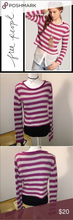 Free People Beach Shake & Roll sweater Like new condition, can't find the size but would prob fit a small. Free People Sweaters