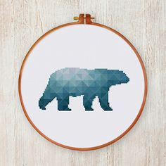 super lovely modern cross stitch pattern from ThuHaDesign with topics of nature, animal, geometric, cute and funny, quote, vintage