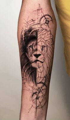 Sleeve and Hand Tattoos . Sleeve and Hand Tattoos . Pin by Samra Says On Tattoo Ideas 3 Wolf Tattoos, Hand Tattoos, Lion Head Tattoos, Forearm Tattoos, Cute Tattoos, Body Art Tattoos, Tattoos For Guys, Tattoos For Women, Tattoo Thigh