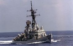 USS Barney (DDG-6) Charles F. Adams-class guided-missile destroyer named for Commodore Joshua Barney, (1759-1818).