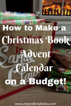"""How to Make a Christmas Book Advent Calendar on a Budget and """"Lost My Name"""" Book Giveaway! Christmas Books, Christmas Crafts, White Christmas, Christmas Ideas, Merry Christmas, Xmas, Lost My Name Book, First Time Moms, Christmas Traditions"""