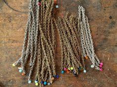 Pietre Parlanti, Monica Trevisi bracelets. Thanks to Miss Claire > http://www.missclaire.it/hand-made/monica-trevisi-artigianato-e-design-contemporaneo/