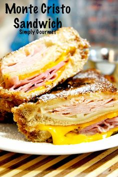 Simply Gourmet: Monte Cristo Sandwich- Bennigan's my absolute favorite sandwich/restaurant!
