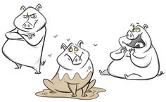 pig characters - Google Search