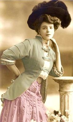 1890's fashion - Google Search hmmm I wonder what this would look like?