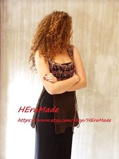 HEraMade - HEra textil : Fall long vest Autumn Day, Fall, Top Blogs, Long Vests, Handmade Crafts, That Look, Tops, Dresses, Fashion