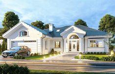 Dom nawiązuje stylistycznie do Small Modern House Plans, Beautiful House Plans, Simple House Plans, My House Plans, Bungalow House Plans, Luxury House Plans, Bedroom House Plans, Bungalow House Design, Modern Bungalow