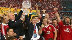 British and Irish Lions win the test series. 6th July 2013 ... Australia 16 - 41 Lions