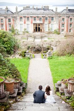 Stunning Picture with Old Building - Ireland Wedding by Brosnan Photographic