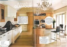 Davonport's classically beautiful Canterbury kitchen as featured in Period Idea's 100 Beautiful Kitchens magazine.