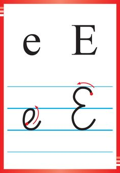 Alfabet polski, pisany dla dzieci do druku 13 Polish Language, Preschool Classroom, Kids Learning, Montessori, Education, Cubes, Improve Handwriting, Speech Language Therapy, Christmas Activities For Children