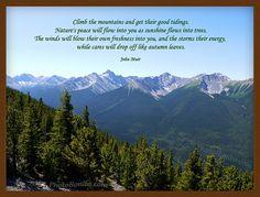 My favorite John Muir quote