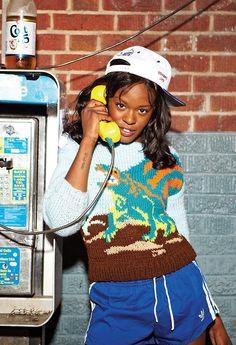 AZEALIA BANKS Black Women Fashion, Womens Fashion, Women In Music, Photoshoot Ideas, Head Wraps, Girl Crushes, My Music, Banks, Kendall