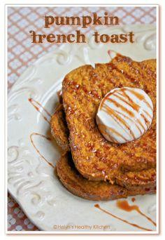 Helyn's Healthy Kitchen: Vegan Pumpkin French Toast