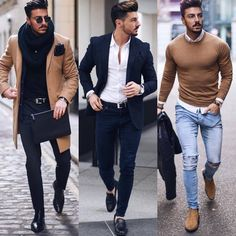 """7,149 Likes, 63 Comments - GENTLEMENFASHION (@gentlemenfashion_) on Instagram: """"Follow @gentlemenfashion_ for more style Which one? 1,2, o 3? Amazing style by @rowanrow…"""""""