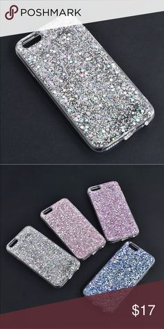 ✨Silver Glitter Soft iPhone Case✨ Glitter Bling Silver iPhone Soft TPU Slim Case. Pretty and very reflective. Protect your phone from dust, dirt and scratches in style! New in plastic packaging, never used. Bundle and save! Accessories Phone Cases