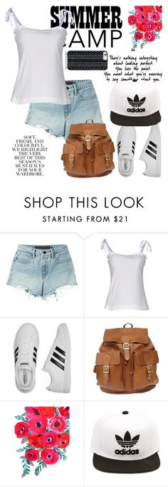 """""""#Summer Camp.."""" by detroitgurlxx ❤ liked on Polyvore featuring T By Alexander Wang, Dolce&Gabbana, adidas, Folio, Savannah Hayes, summercamp and 60secondstyle"""