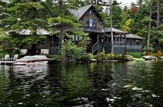 Lake House - traditional - exterior - burlington - Smith & Vansant Architects PC