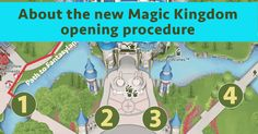 The start of 2017 brought about a bunch of announcementsat Disney World, including a new Magic Kingdom opening procedure. Here's how it works.