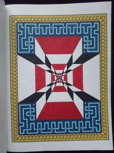 Mesmerizing Mandalas Randall McVey Infinity Creative Haven Coloring Book Copics