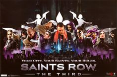 Saints Row 3 - Your City Posters from AllPosters.com