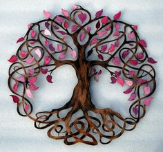 Tree of Life Infinity Tree Wall Decor by HumdingerDesignsEtsy, $240.00