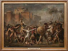 Jacques-Louis DAVID - Les Sabines - 1799 - Louvre