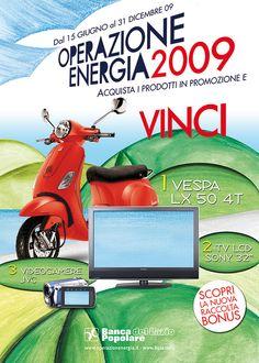 #concorso per @bpl Banca Popolare del Lazio #2009 #operazionenergia