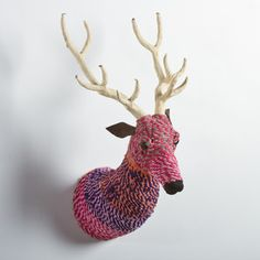 Rope Wrapped Deer Mount now featured on Fab.