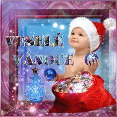 Vánoční přání - Obrázková přání Christmas Images, Merry Christmas, Psi, Snow Globes, Gifs, Santa, Animation, Babies, Decor