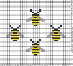 Best Cost-Free Cross Stitch bee Suggestions Because I have already been corner . - Best Cost-Free Cross Stitch bee Suggestions Because I have already been corner appears due to the - Tiny Cross Stitch, Simple Cross Stitch, Cross Stitch Animals, Cross Stitch Designs, Easy Cross Stitch Patterns, Cross Stitching, Cross Stitch Embroidery, Hand Embroidery Patterns Free, Knitting Charts