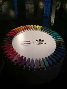 Adidas x Pharrell collaboration colors