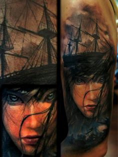 Some amazing tattoos by Domantas Parvainis