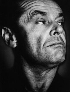 All time favor Jack Nicholson Jack Nicholson, Celebrity Portraits, Celebrity Photos, Black And White Portraits, Black And White Photography, Cinema Tv, Actrices Hollywood, Celebs, Celebrities